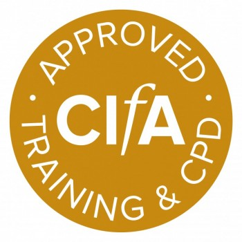 CIfA Approved Training & CPD logo
